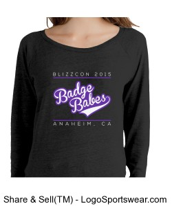 Alternative Ladies 4.4 oz Slouchy Pullover Design Zoom